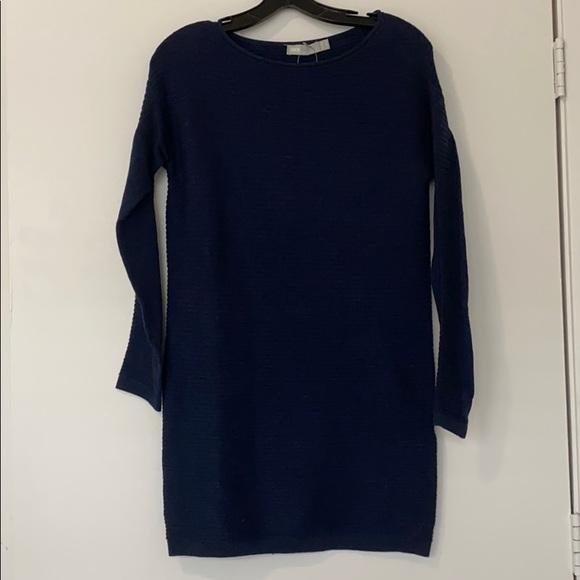 ASOS navy sweater dress NWT